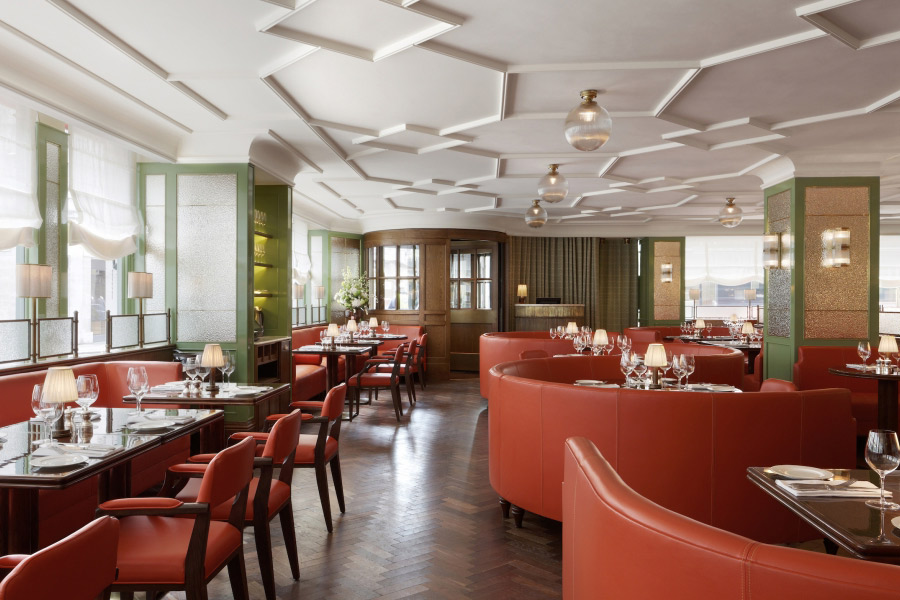 Restaurant view of A Shade Above Lampshades at 45 St Jermyn St, London