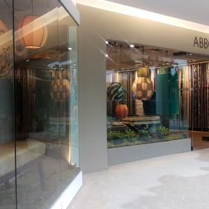 The Abbott & Boyd Showroom Window Display.