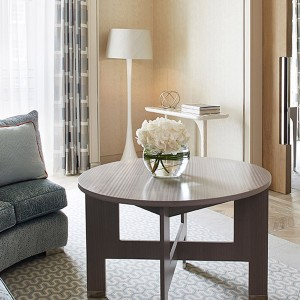 Tall Lampshade for Berkeley Chelsea Suites by Robert Angell International in collaboration with A Shade Above.
