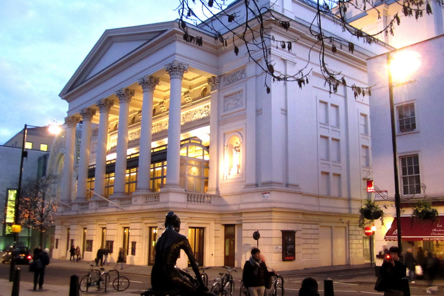 Streetview of The Royal Opera House