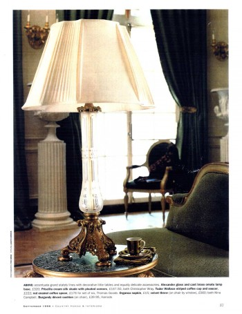 Country Homes & Interiors – Christopher Wray