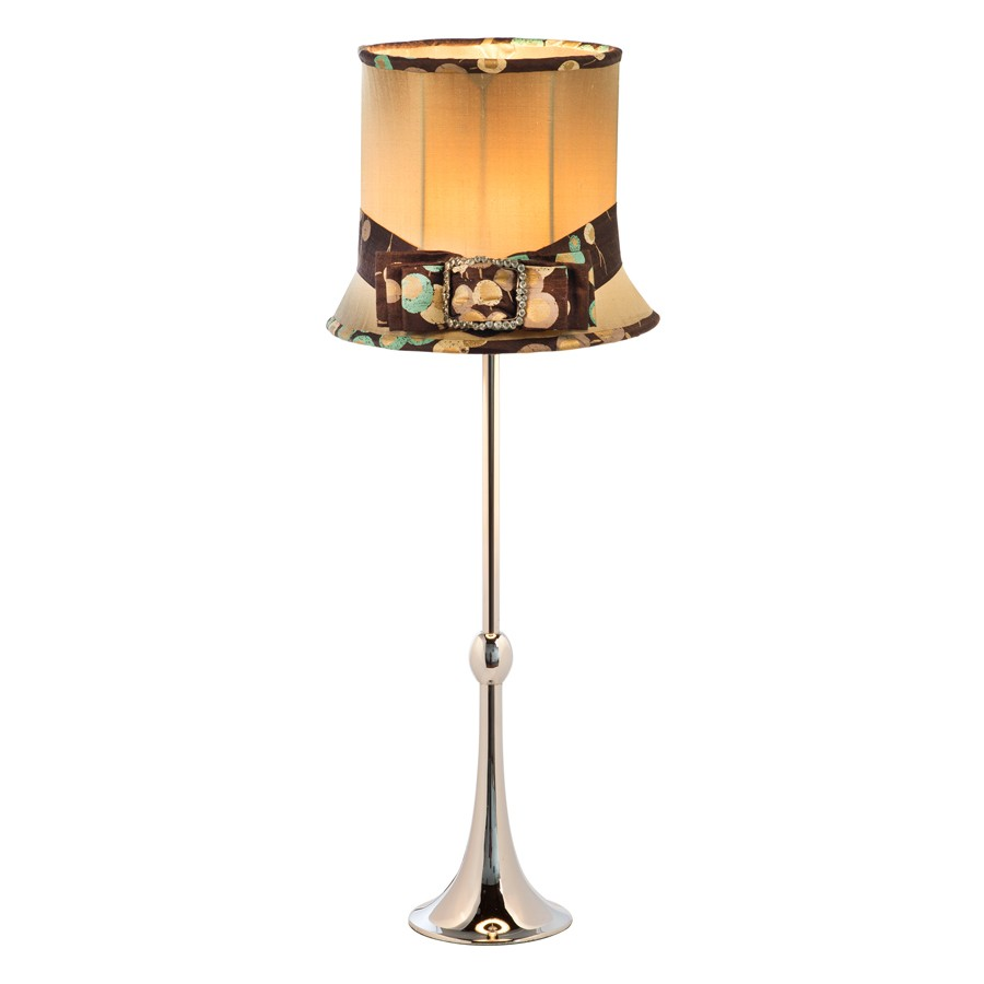 Ellie Hat Lampshade With Base