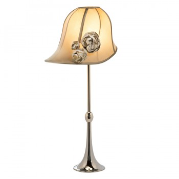 'Clare' Hat Lampshade with A Shade Above's Regency' lampbase