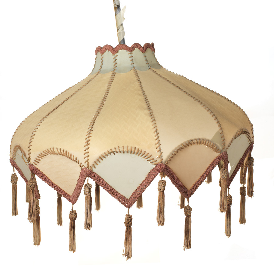 Vintage parchment lampshade from our archives!