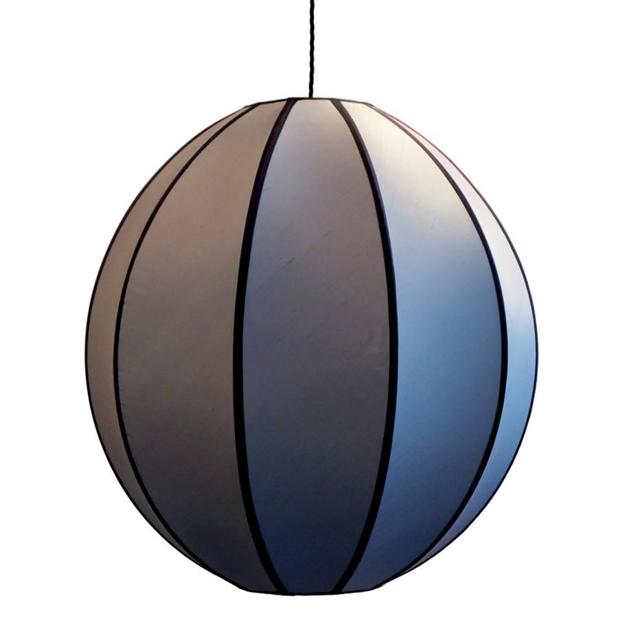 Silver globe pendant lampshade