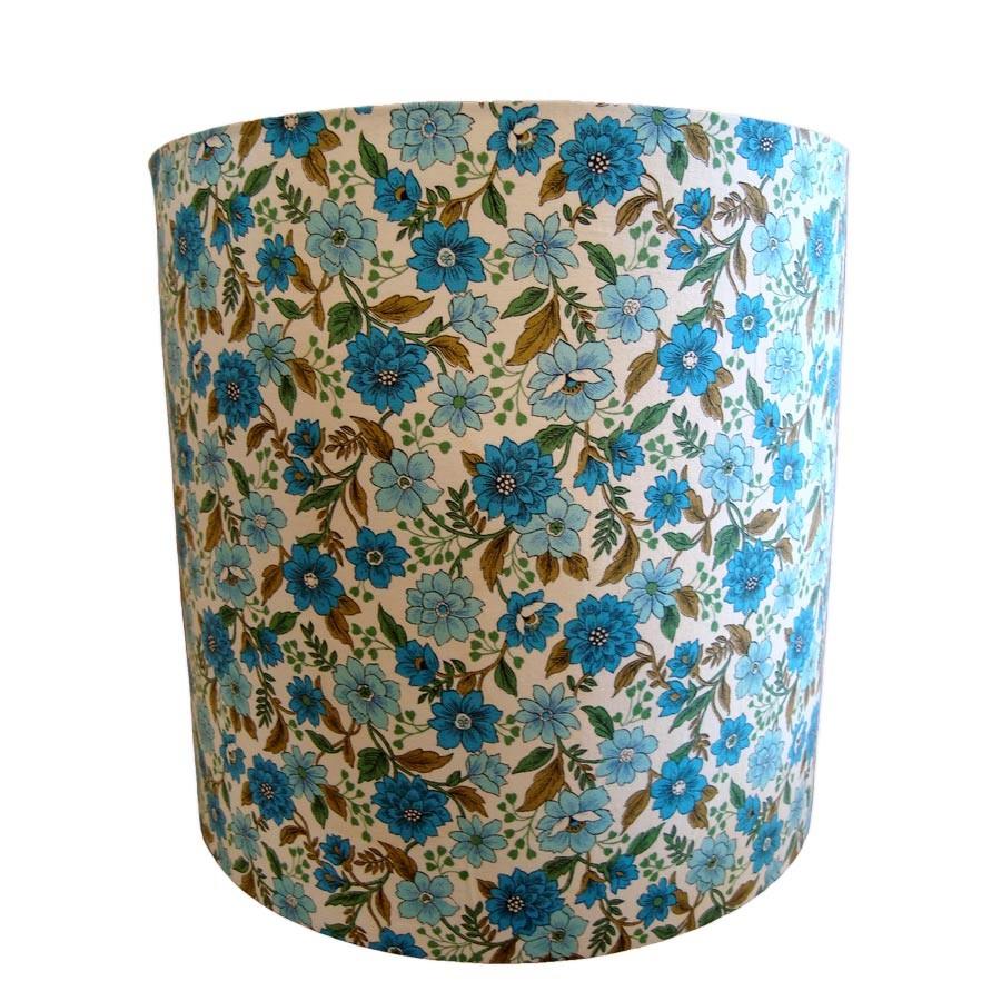 Vintage Kath Kidston fabric laminated drum lampshade