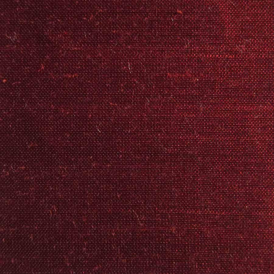 65 Burgundy Doupion Silk