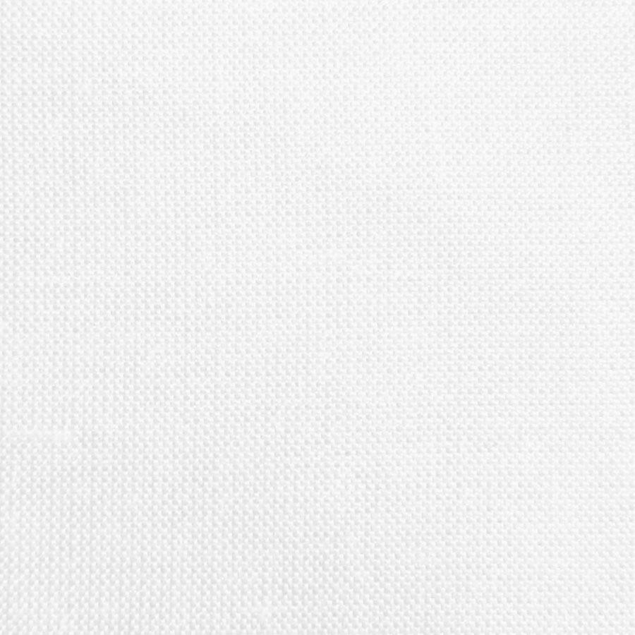 White Doupion Silk