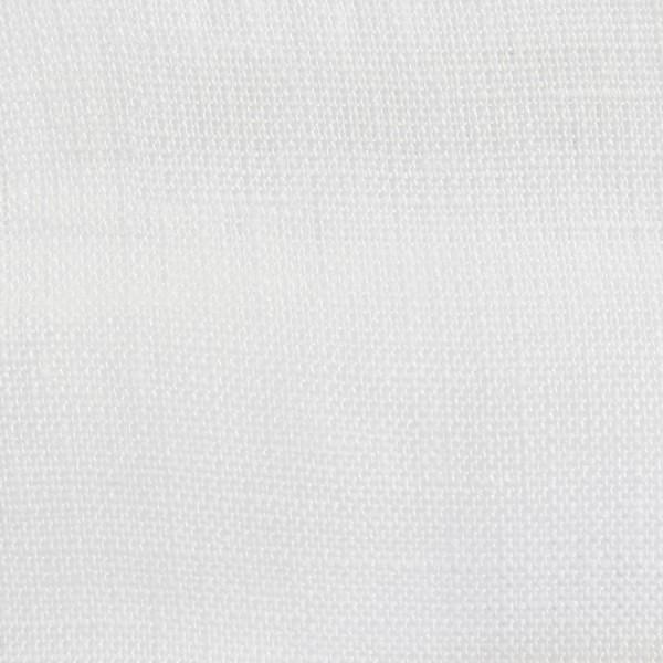 100% White Linen