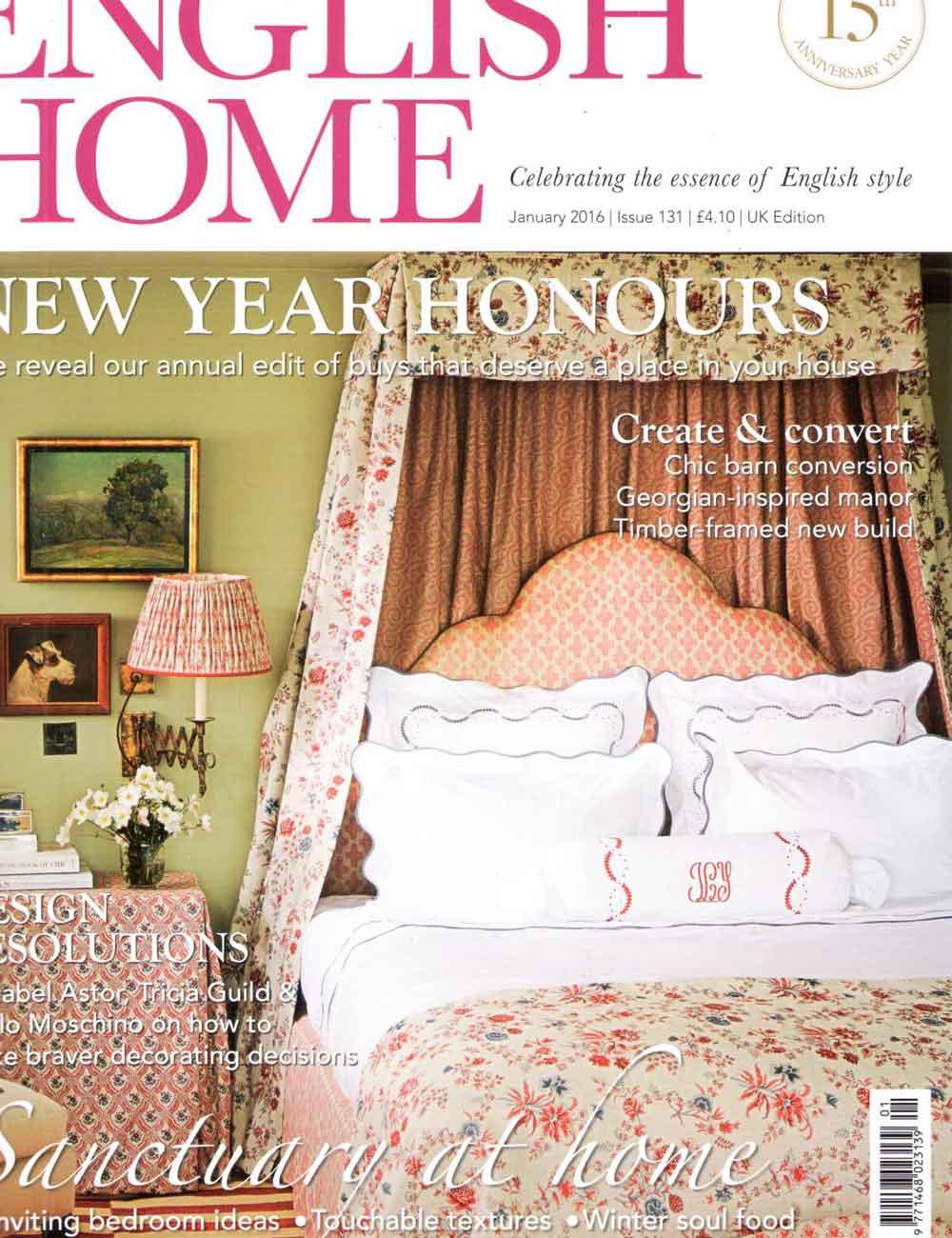 English Home Magazine January 2016