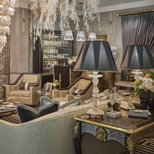 The 'Gatsby Suite' installation with Katherine Pooley for London Design Week 2019