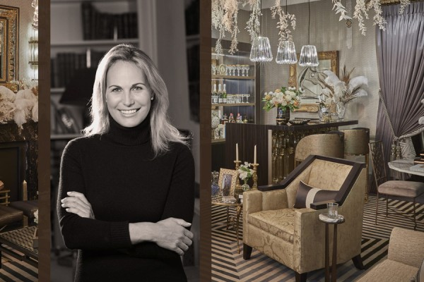 Talking Art Deco with Katharine Pooley for the 'Gatsby Suite' at London Design Week