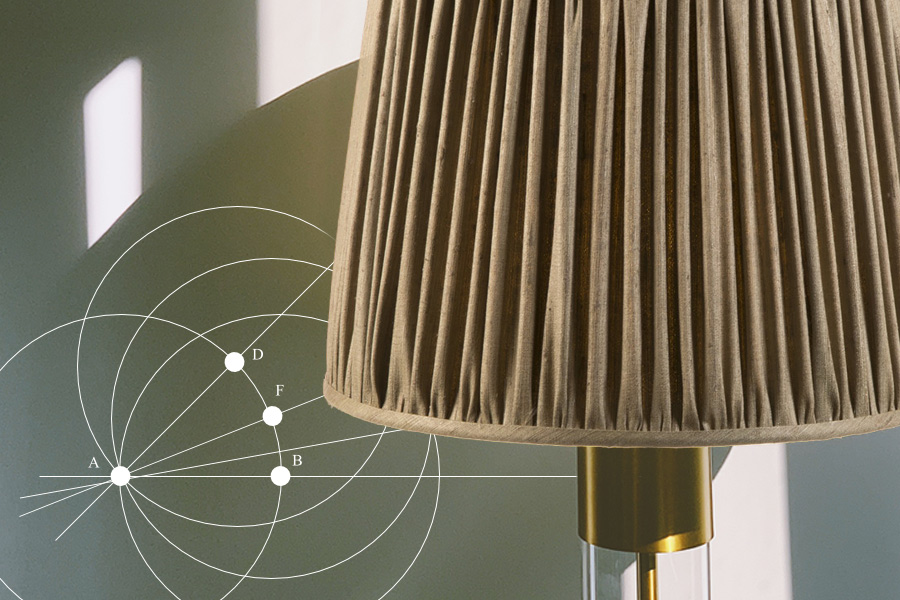 Choosing lampshade shapes and sizes