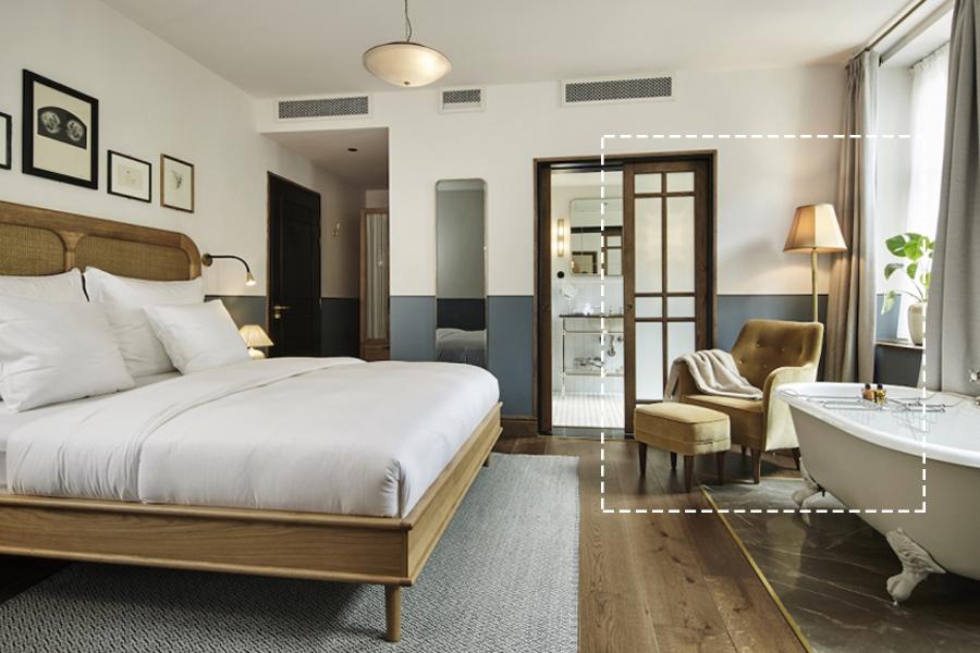 Sanders Hotel Copenhagen Floor Lampshade